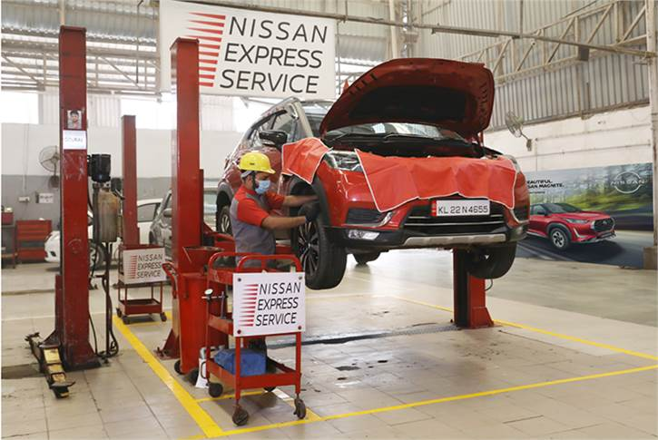 'Nissan Express Service' aims to deliver quick and comprehensive service experience in 90 minutes.