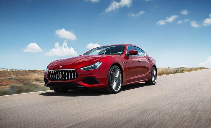Maserati launches the V6 petrol variants of Ghibli, Quattroporte and Levante in India.