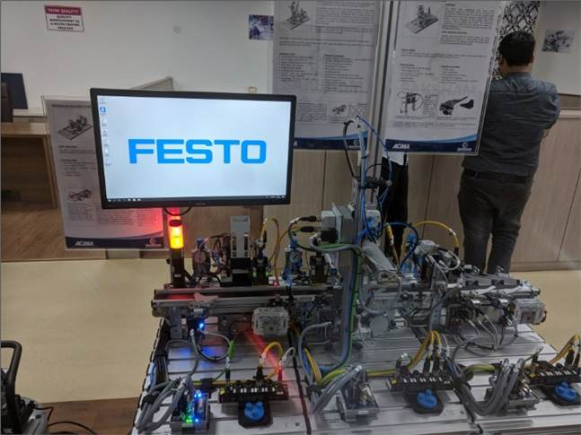 State-of-the-art mechatronic equipment sourced from Germany