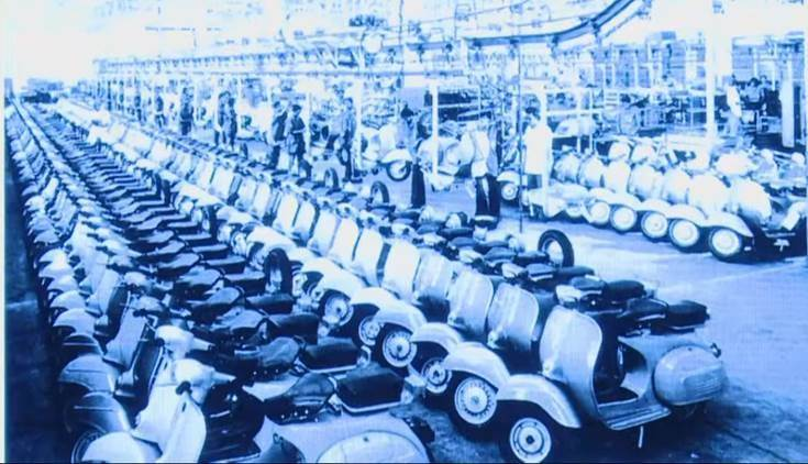 In the Indian auto industry, the Chetak