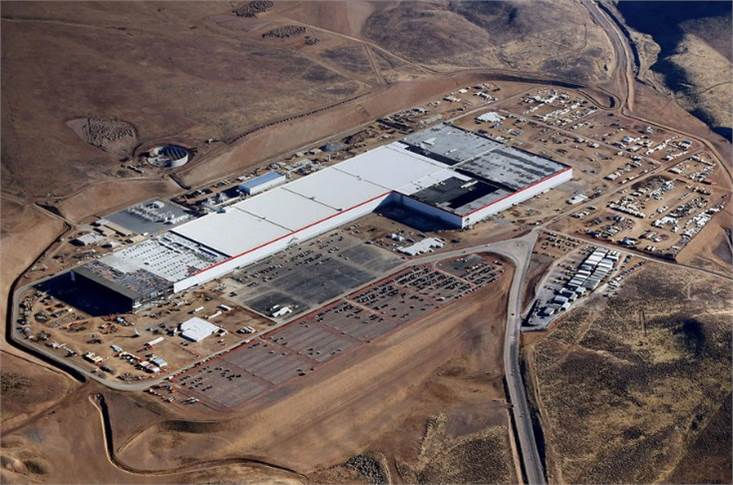Tesla is unusual in being a car maker with gigafactories
