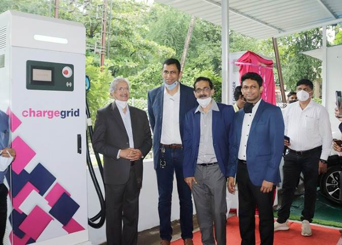 The EV station, with 21 chargers, was inaugurated by Subhash Desai, Minister of Industries and Mining, Maharashtra.