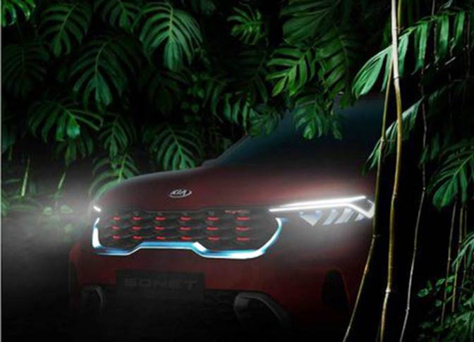 When it is launched in September, the Kia Sonet's prices are expected to be in the Rs 700,000-12 lakh (ex-showroom) bracket.