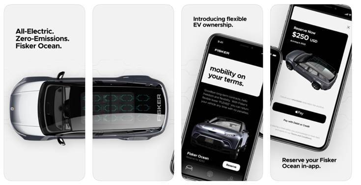 Fisker Flexee mobility app allows people to get into a flexible lease for the luxury EV without any long-term commitment.