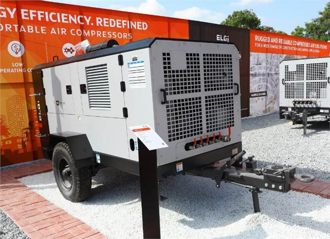 Elgi Equipments, launched its future-ready, energy-efficient range of electric- and diesel-portable air compressors.