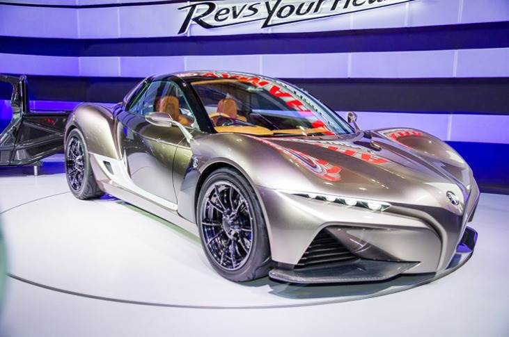 2015 Sports Ride concept was developed in partnership with Gordon Murray.