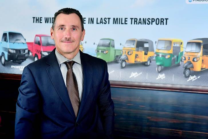 """Piaggio Vehicles' Diego Graffi: """"The outlook for this quarter is negative in terms of business. The uncertainty is creating further problems."""""""