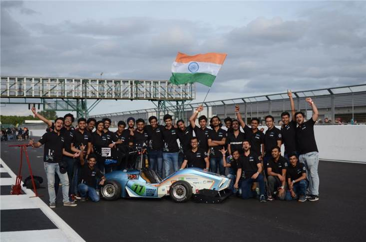 The IIT Bombay Racing team achieved an all-time best overall rank of 30 out of the 118 participating teams and secured the third position amongst the teams competing in the electric car space.