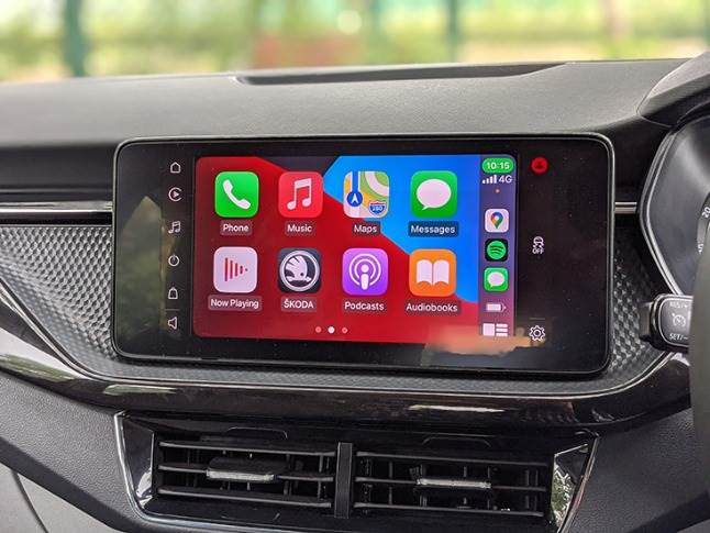 10-inch infotainment gets wireless Apple CarPlay and Android Auto.