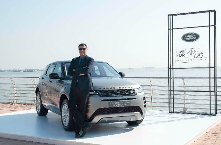 "Rohit Suri, president and MD, Jaguar Land Rover India: ""The Range Rover Evoque has always been the most stylish and distinguished compact SUV in its category."""
