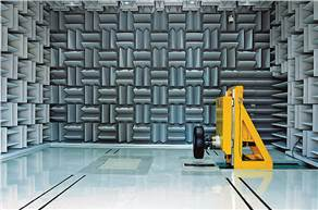 The semi-anaechoic chamber in the state-of-the-art NVH testing lab allows analyses of pass-by noise and noise inside a vehicle to optimise tyre design and performance.