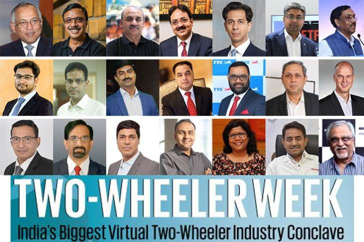 India's first-ever week-long virtual Two-Wheeler Conclave saw over 20 captains of industry discuss a varied range of issues from managing the Covid-induced crisis, to judicious inventory management, to affordable safety tech and also the mantras to creating successful start-ups.