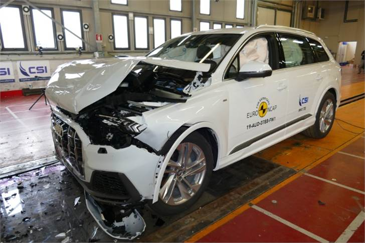 Audi Q7 too bags the coveted 5-star rating in recent Euro NCAP tests