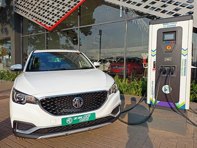 In June 2020, Tata Power tied up with MG Motor India to set up EV charging stations.