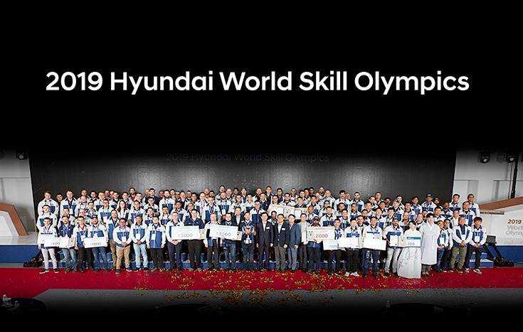 Held at the Hyundai Cheonan Global Learning Center in Korea, this year's iteration drew 117 participants, including 66 entrants (dealer technicians) & 51 observers (dealer staffers) from 51 countries.