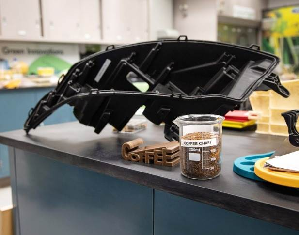 Varroc Lighting's new headlamp – developed with Ford, McDonald's, and Competitive Green Technologies – offers stiffness, rigidity, and thermal management properties comparable to existing headlamps.