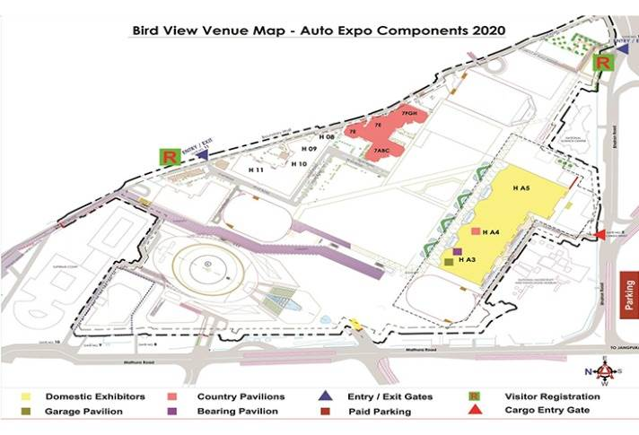 Spread across a humungous 55,000 square metres, Auto Expo Components 2020 will see 1,500 exhibitors from 20 countries.