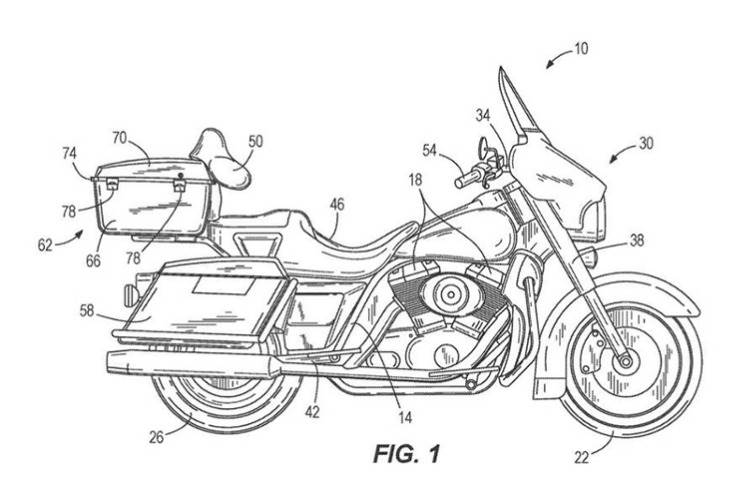 Harley files patent for self-balancing technology.