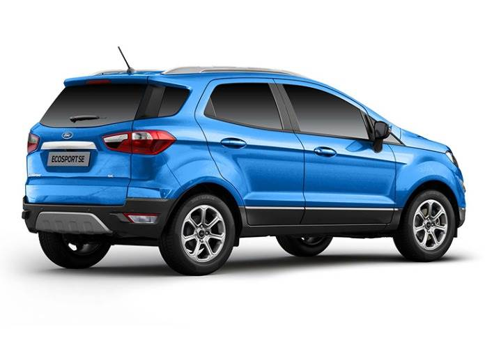 With the absence of the spare wheel, the EcoSport SE now comes with a TPMS and a quick puncture-repair tool kit