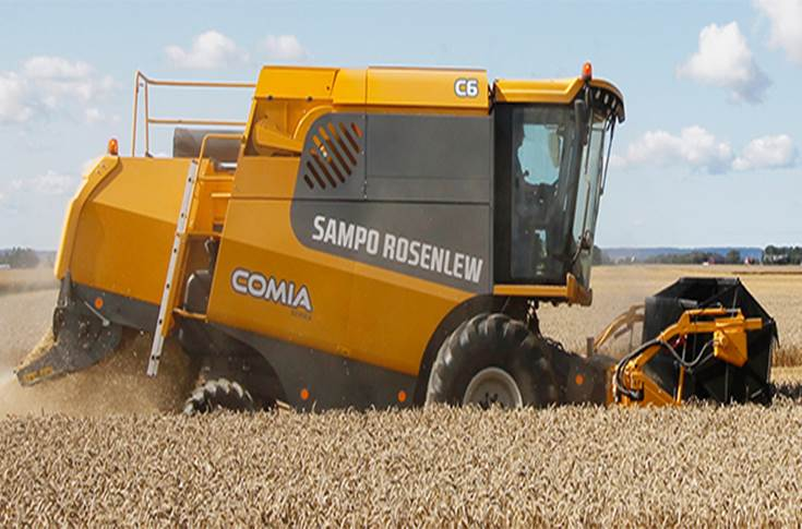 Combine Harvesters from Sampo Rosenlew