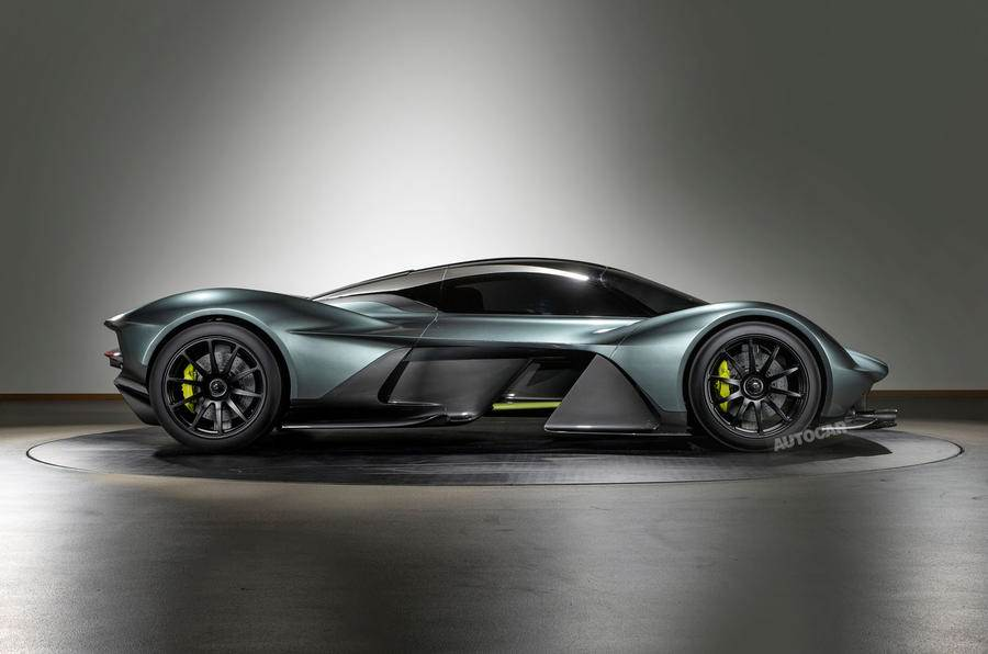 Aston Martin Valkyrie Revealed In Most Production Ready Form Yet