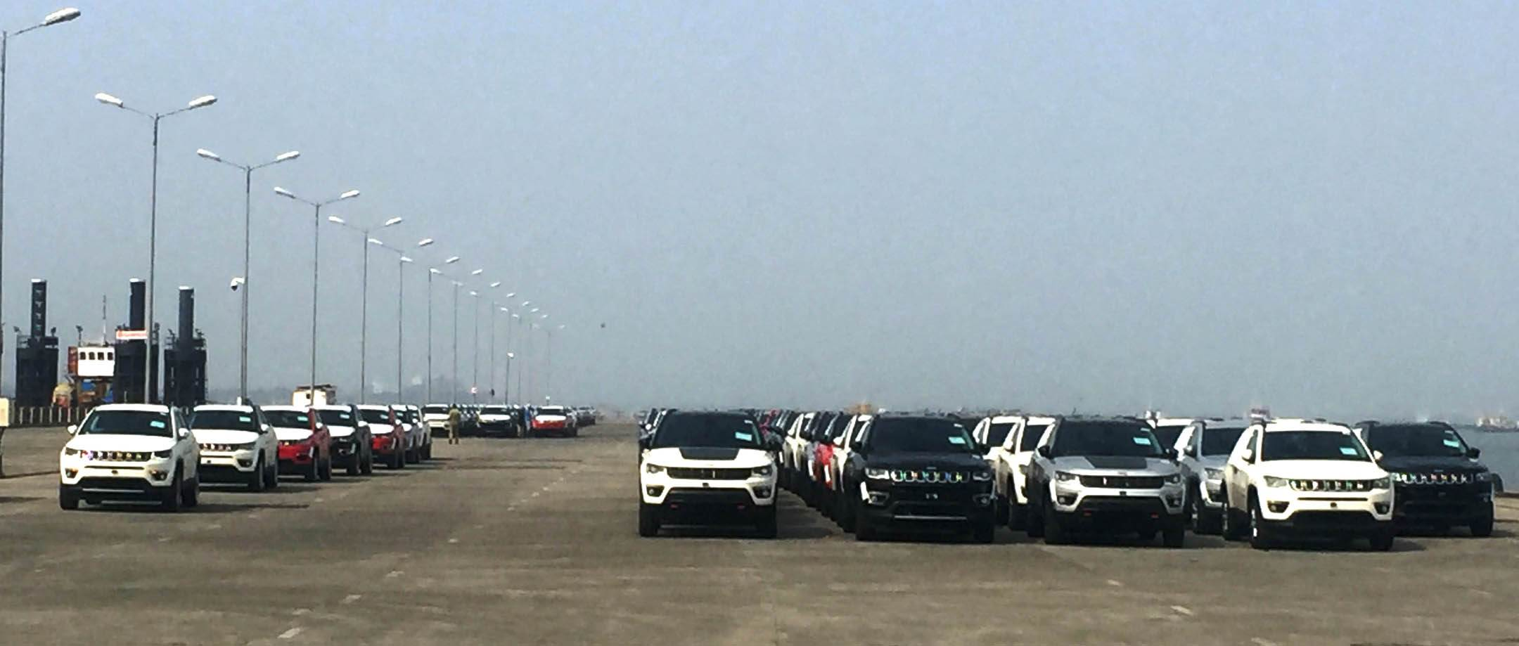 first-batch-of-the-jeep-compass-at-bombay-port-trust-ready-to-be-shipped-to-japan-and-australia-2