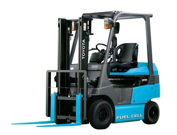 green-fuel-cell-forklift