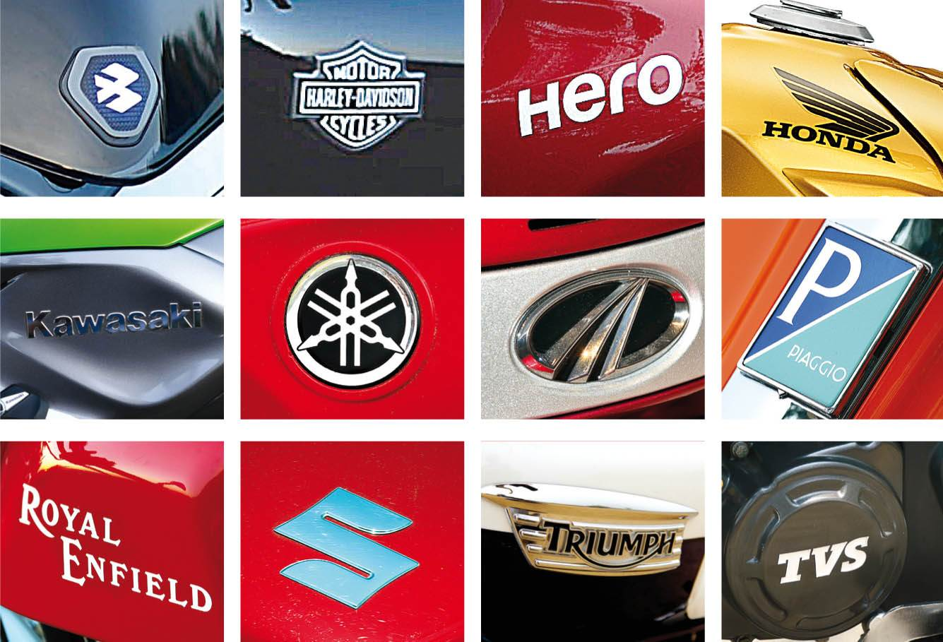 two-wheelers-logo-collage