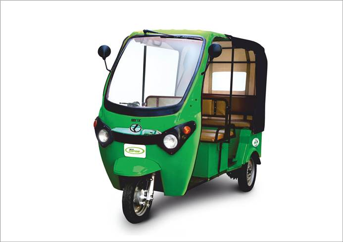 Kinetic Green Launches Electric Rickshaw With Lithium Ion Battery