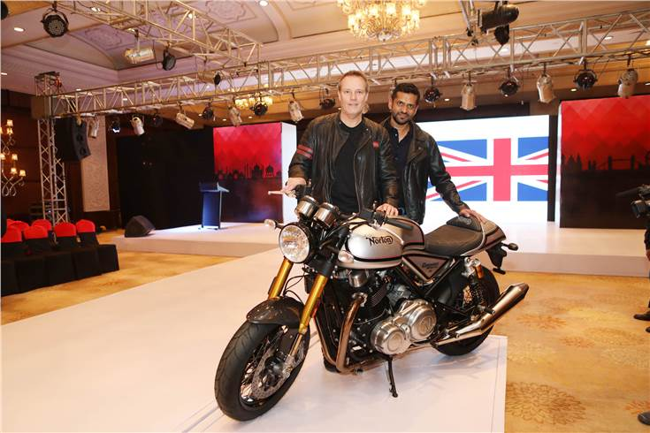 Kinetic Group partners with Norton Motorcycles; Will