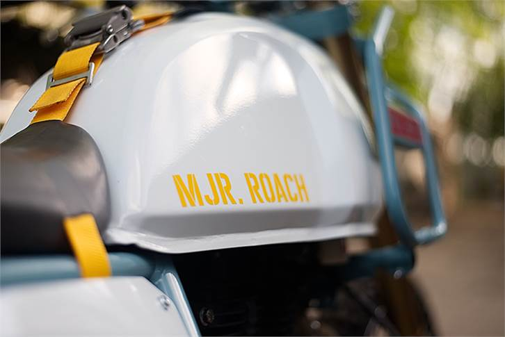 MJR Roach is inspired by video games, says Royal Enfield.