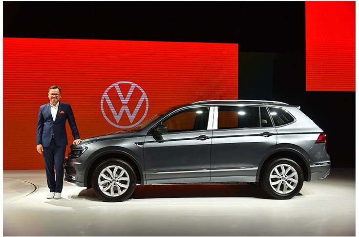 "Steffen Knapp: ""It is the first SUV that is being launched under Volkswagen's SUV offensive strategy and suits the needs of every Indian customer."""