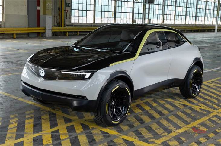 Vauxhall-Opel's new B-SUV bears a resemblance to the two-door GT coupe´ concept it succeeds