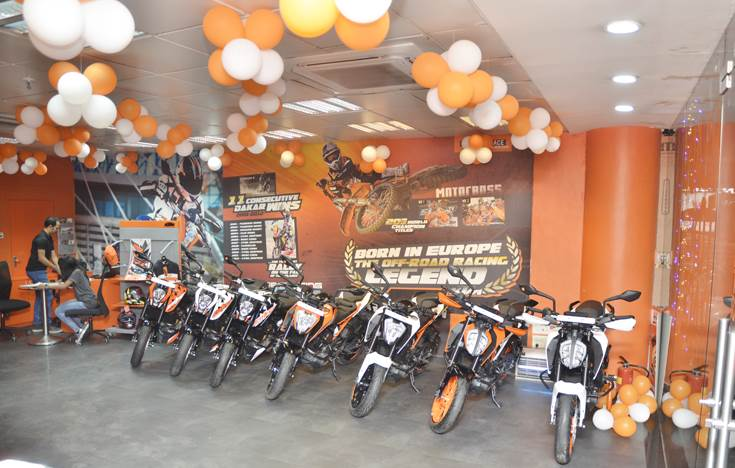 In FY2019, with sales of 50,705 units, India was KTM