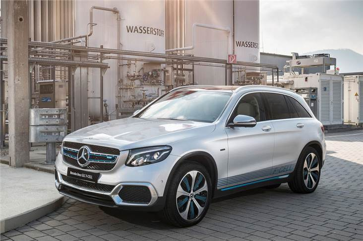Mercedes has trialled hydrogen in the GLC fuel cell