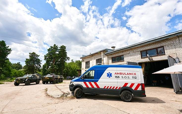 The Torsus Terrastorm Medivac can be used for emergency relief and medical evacuation in even remote locations.