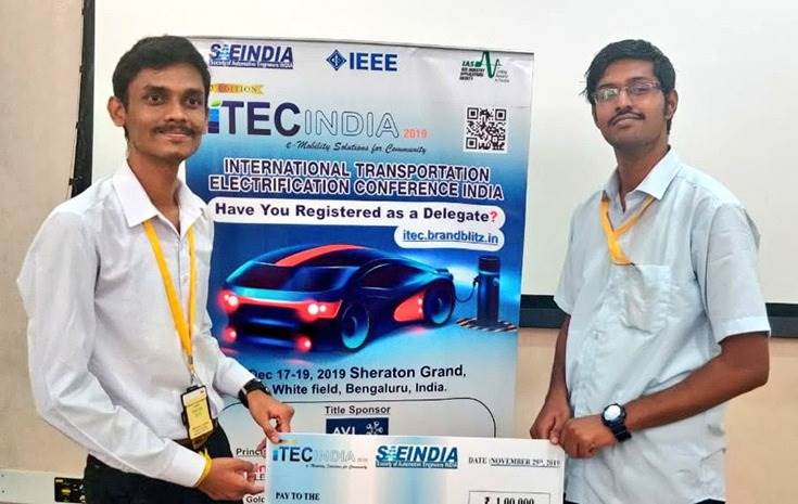Team Praxians was the winner of the iTEC India Hackathon 2019 and took home Rs 100,000. They They will be showcasing their paper at iTEC India on December 17-19.
