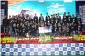 Winners of the Best eBAJA team of 2019 BAJA SAE India, Institute of Technology, Nirma University from Ahmedabad