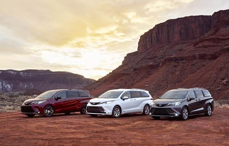 New 2021 Toyota Sienna is slated to be officially launched later this year.