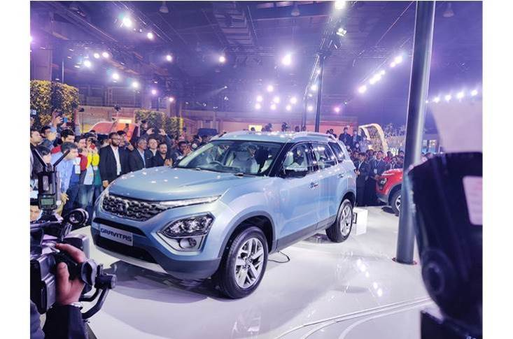 The new Safari was first showcased as the Gravitas at the Auto Expo 2020 in New Delhi on February 5.