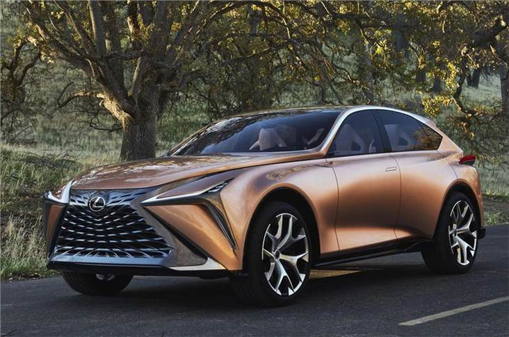 Lexus LF-1 concept can accept a variety of powertrains.