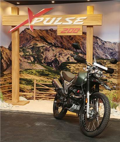 The Hero XPulse 200 adventure motorcycle is priced at Rs 97,000.