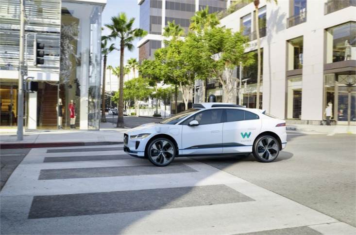 Waymo taxis, including Jag I-Paces, will soon start driverless tests