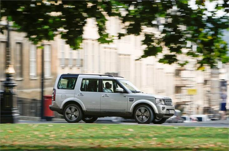 ...it looks quite a lot like a Land Rover Discovery 4, doesn