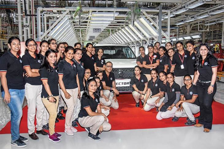 As part of its commitment towards gender diversity,MGMotorIndiahas successfully integrated over 31 percentwomen employees in its workforce as of last year itself.