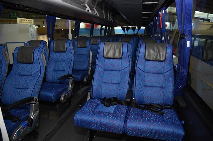 Ashok Leyland Freedom seating