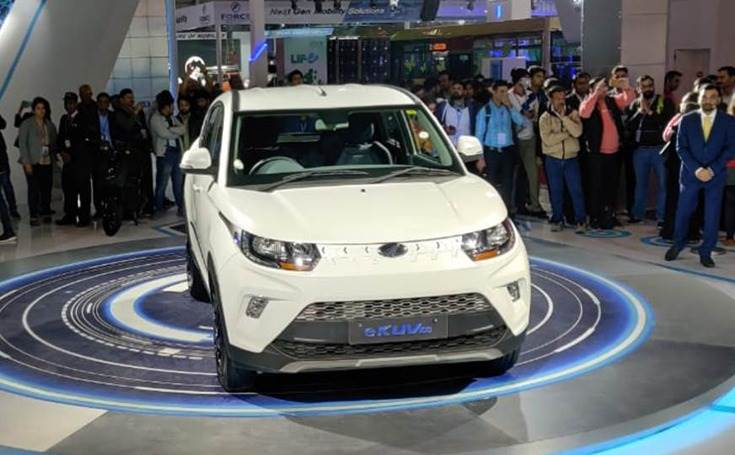 eKUV100, launched in February 2020 at Rs 825,000, uses a 40kW (54.4hp) electric motor which sends power to the front wheels. The liquid-cooled battery provides the EV with a claimed 150km range on a single charge.