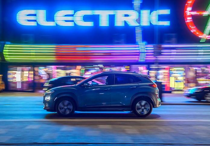 Upcoming 45 will sit above the Kona Electric (pictured) as Hyundai's first stand-alone electric model.
