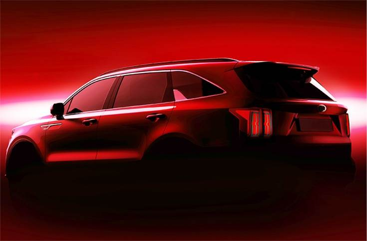 Kiaistargetingthe global SUV market by applying arange of innovationsto thenewSorento, including advanced driver assistance systems andprogressive connectivity and infotainmentfeatures.