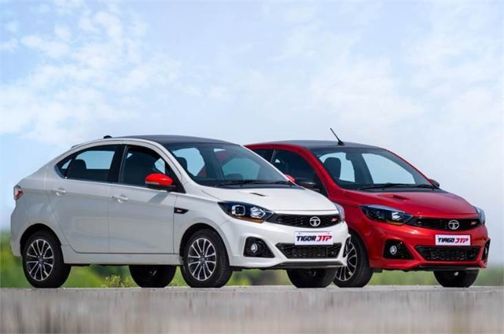 Tiago JTP and Tigor JTP were the two products from JT Special Vehicles